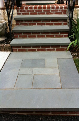 Masonry Contractor, Flagstone and Brick Steps